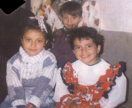 Hazam Al Rowaimi's children who drowned on SIEVX, Fatama, 8; Nargis, 5, and Mohammed, 3 - his eldest daughter Noor, 11, is not pictured